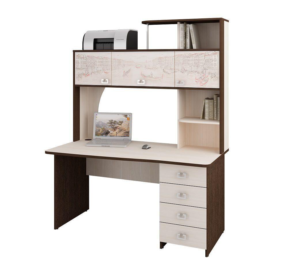 большие компьютерные угловые столы