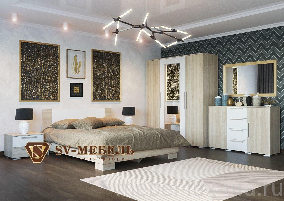 купить спальный гарнитур лагуна 2 в интернет магазине мебель люкс