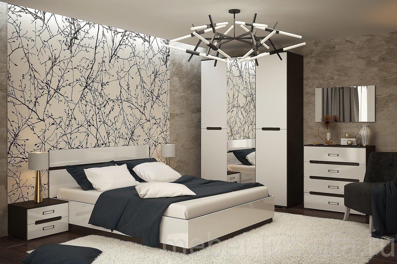купить спальню вегас в интернет магазине мебель люкс уфа