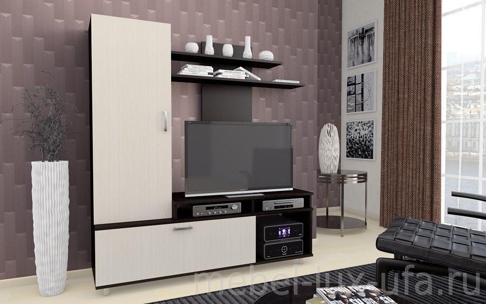 купить стенку горку в гостиную в интернет магазине мебель люкс уфа