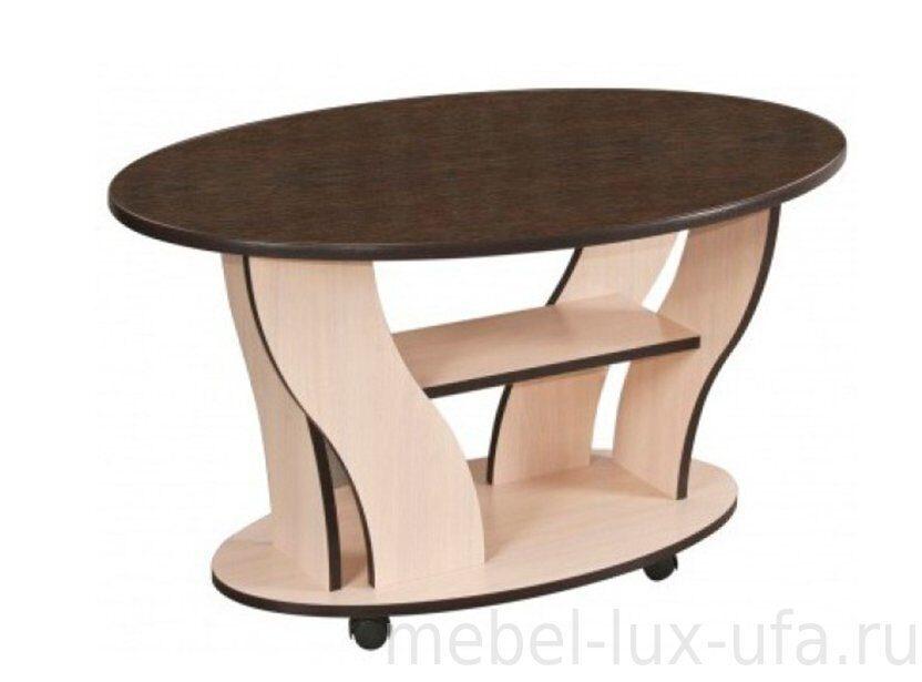 купить журнальный столик из стекла и дерева у мебель люкс уфа стр2